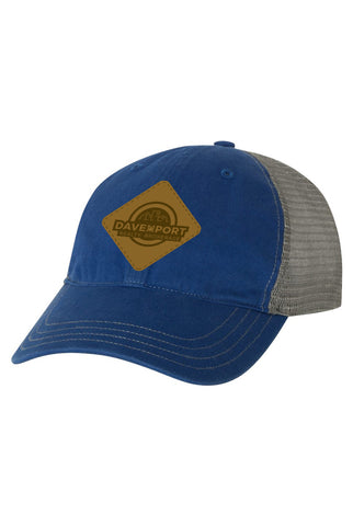 Garment-Washed Trucker Cap