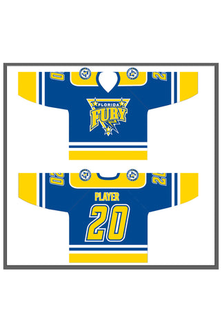 Florida Fury Game Jersey - Royal