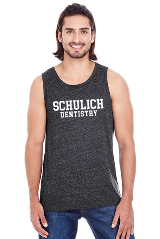 Triblend Tank Top - Dentistry Text