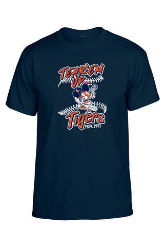 Tear Em' Up Tigers Shortsleeve Tee - Youth
