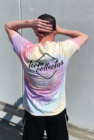 Branded Tie Dye Tee - Youth