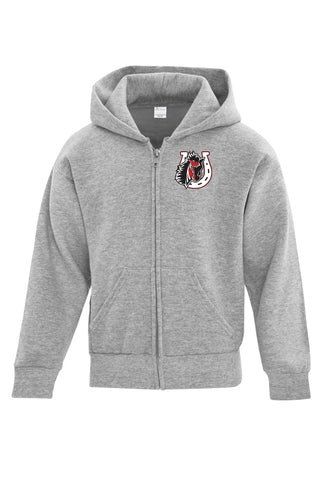 Fleece Full Zip Hoodie - Youth