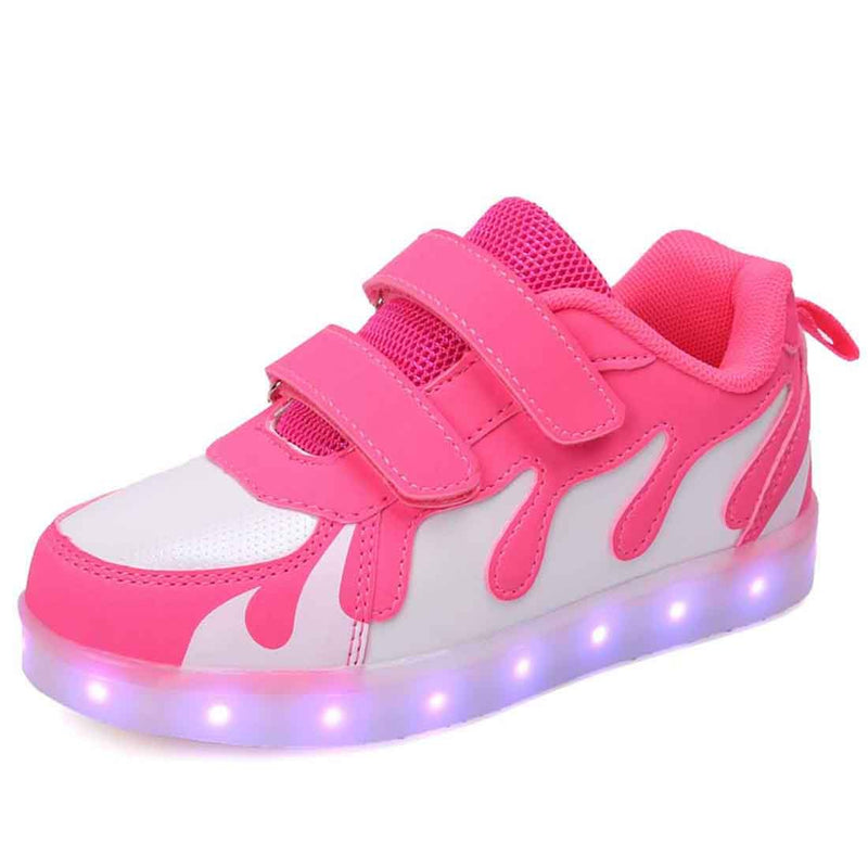 Fashion Luminous Shoes Colorful LED Light Up Sneaker for Kids - SIKAINI