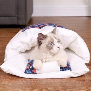 50% OFF Movable winter warm cat house small pet bed