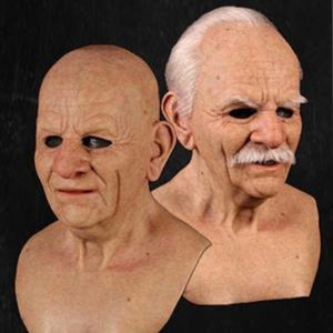 Another me-The Elder Man 2 -Halloween Cosplay Silicone Mask