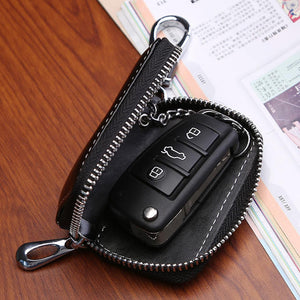 (50% OFF OVER 39$ FREE SHIPPING)Car Key case,Genuine Leather Car Smart Key