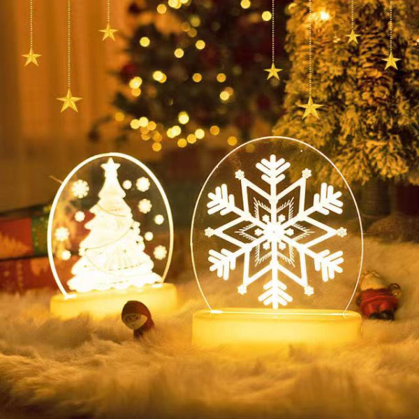 Santa Claus 3D Nightlight Best Christmas Gift