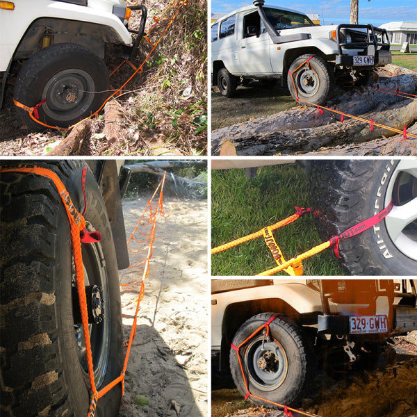 【Factory Outlet 50% Off And Free Shipping】 'Bog Out' Turns Your Wheel Into a Winch, Gets You Unstuck From Anything