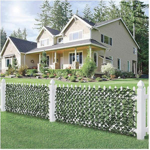 (Real Factory Outlet More Than 50% OFF!!!)--Expandable Faux Privacy Fence