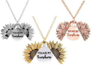 You Are My Sunshine  Sunflower Neckless (Forever Love)