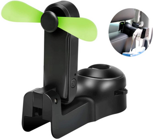 (Factory outlet 50% OFF) Car Seat Rear Hook With Fan