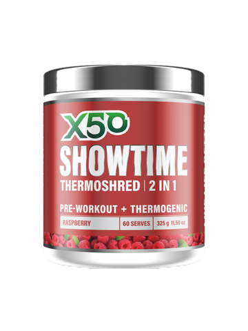 Raspberry X50 Showtime Thermoshred