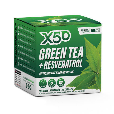 X50 Green Tea and Resveratrol Original