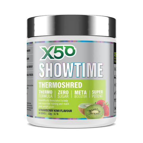 Strawberry Kiwi X50 Showtime Thermoshred
