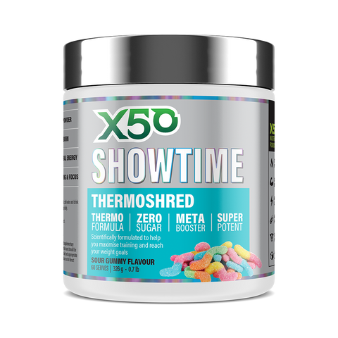 Sour Gummy X50 Showtime Thermoshred