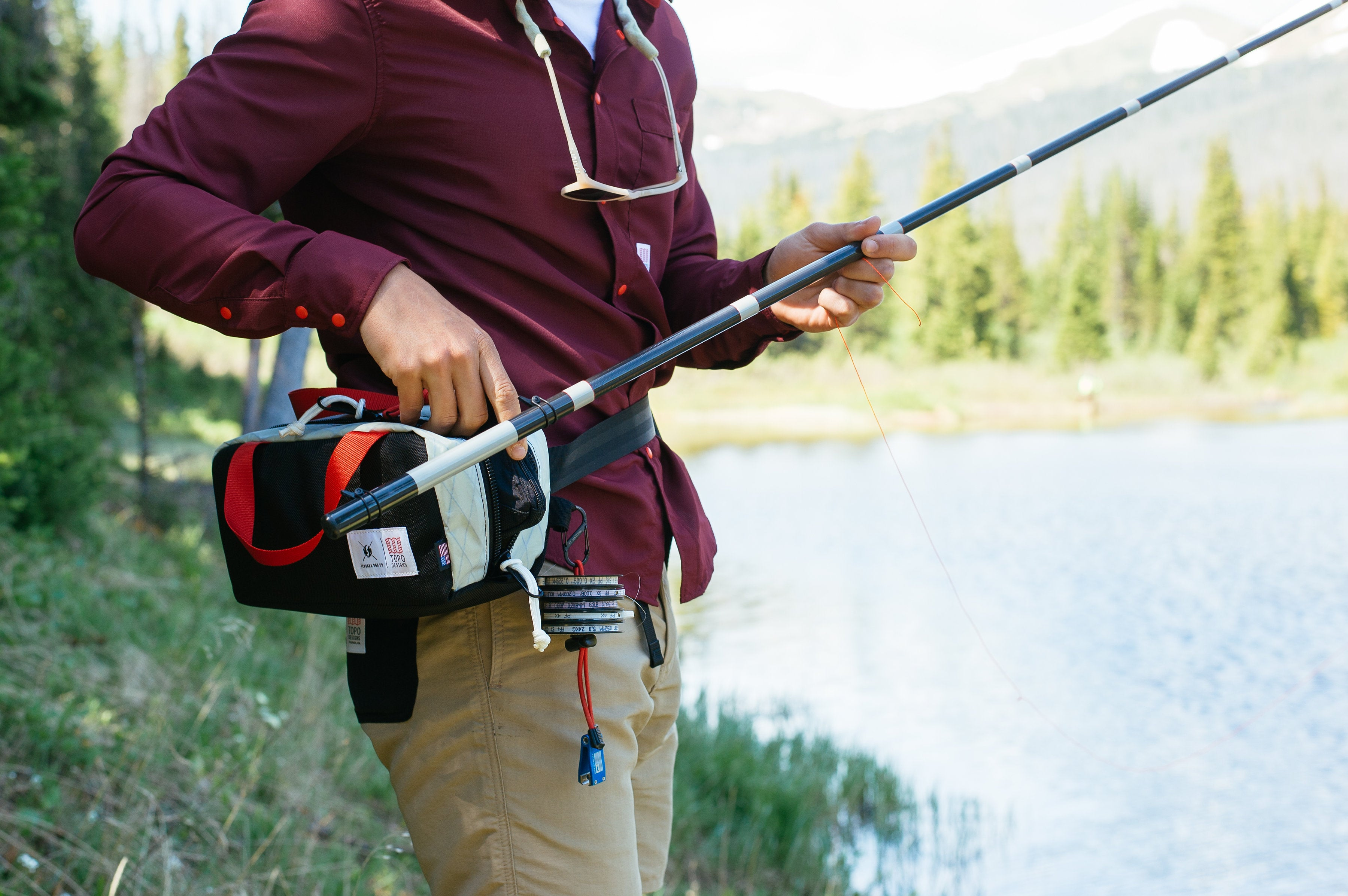 Topo Designs x Tenkara Rod Co.