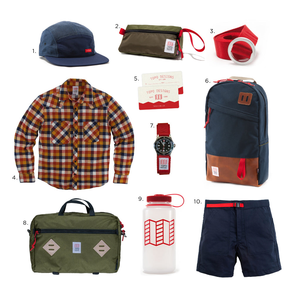 Topo Designs Father's Day Grid