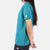 Close-up side model shot of the Women's Short Sleeve Climber Tee in teal