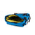 Detail Shot of the Topo Designs Rover Pack Mini in Blue showing yellow inside of bag
