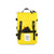 Front detail shot of the Topo Designs Rover Pack Mini in Yellow showing front zipper pocket