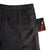 Front pocket detail shot of Topo Designs Trail Shorts - Sport - Men's in Black a micro accessory bag in pocket.