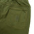 Detail shot of Topo Designs Men's Dirt Pants in Olive green showing back pockets.
