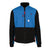 Topo Designs Men's Subalpine sherpa Fleece jacket in blue and black.
