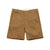 Front product shot of men's field shorts in khaki