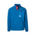Product shot of men's mountain fleece in blue
