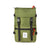 Front Product Shot of the Topo Designs Rover Pack Classic in Olive green