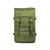 Front Product Shot of the Topo Designs Rover Pack Tech in Olive green