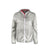 Front product shot of Topo Designs Ultralight Jacket - Lightweight Packable Travel Jacket for Women in Silver