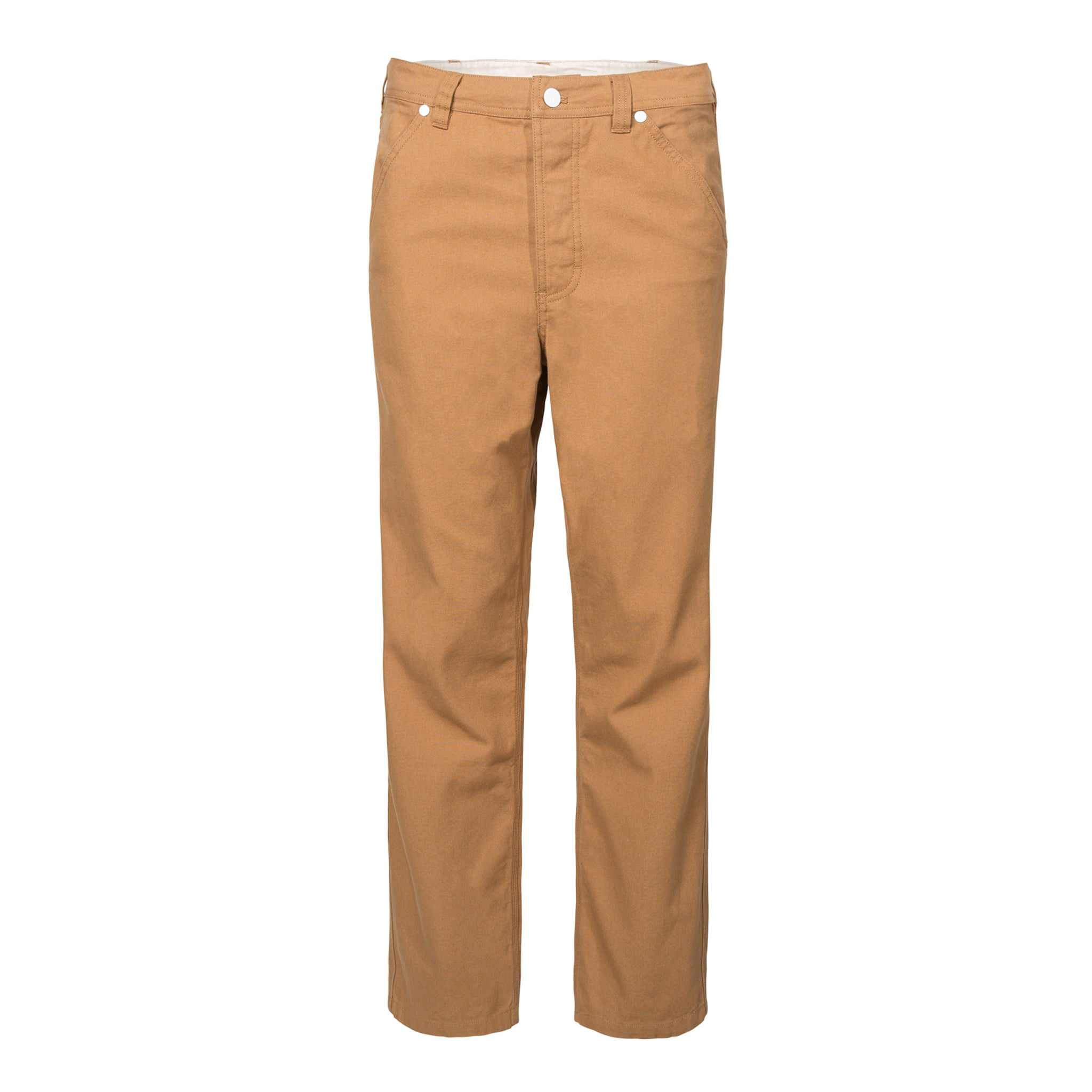 74ad0d1b50 Front product shot of women's chore pants in brown
