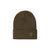 Front product shot of Topo Designs Work Cap beanie in Olive green.