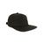 3/4 front view of Topo Designs Fleece Cap in black