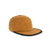 3/4 front view of Topo Designs Fleece Cap in dark khaki brown