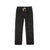 Front product shot of Topo Designs Men's Dirt Pants in Black.