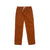 Front product shot of Topo Designs Men's Dirt Pants in Brick orange.