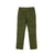 Back product shot of Topo Designs Men's Dirt Pants in Olive green.