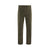 Front product shot of men's field pants in olive
