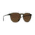 3/4 front view of Topo Designs x RAEN Remmy Sunglasses in Khaki Crystal/Polar Borwn.