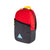 3/4 front view of Topo Designs x Coors Light Light Pack backpack in red/black ripstop