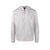 Front product shot of Topo Designs Men's Hybrid Hoodie in Gray