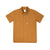 Front product shot of Topo Designs Men's Route Shirt in Khaki brown.