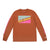 Front product shot of the Men's Long Sleeve Team Tee in clay orange