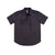 Front product shot of Topo Designs Men's Tech Shirt Short Sleeve in Black.