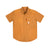 Front product shot of Topo Designs Men's Tech Shirt Short Sleeve in Khaki brown.