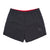 Front product shot of Topo Designs Trail Shorts - Sport - Men's in Black.