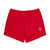 Front product shot of Topo Designs Trail Shorts - Sport - Men's in Red.