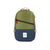 Front product shot of Topo Designs Standard Pack in Olive/Navy